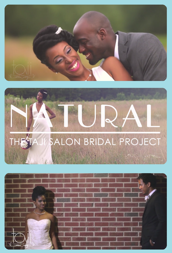 BRANDING | Natural: The Taji Salon Bridal Project